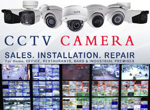 SECURITY CCTV CAMERA SURVEILLANCE SYSTEM INSTALLATION