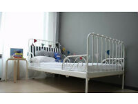 Ikea Minnen Extendable Bed With Ikea Mattress, Excellent Condition, Extends To Full Size Single