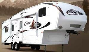 Cougar Fifth Wheel Toy Hauler