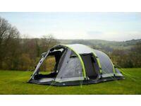 Airgo Cirrus 6 Inflatable Air Tent/carpet/pump/groundsheet