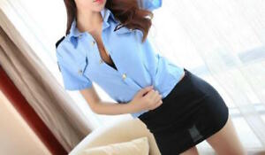 Brand New Police Woman Costume - S/M