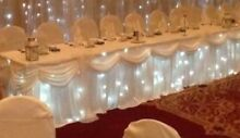 Bridal table skirting/drapping Clarkson Wanneroo Area Preview