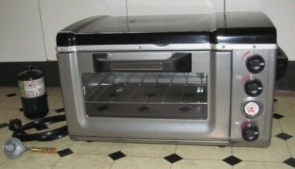 COLEMAN PORTABLE STOVE OVEN COMBO, Gas