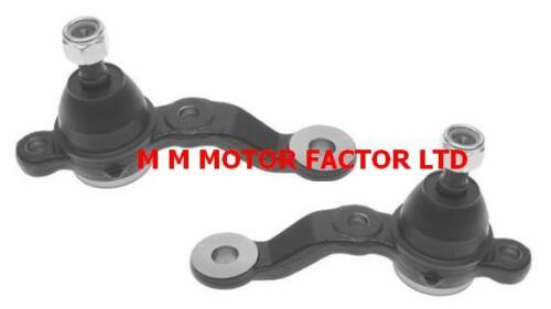 LEXUS IS200 IS300 (99-05) FRONT LOWER WISHBONE SUSPENSION ARMS BALLJOINTS PAIR