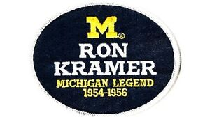 MICHIGAN STATE LEGEND RON KRAMER PATCH NCAA COLLEGE FOOTBALL JERSEY PATCH