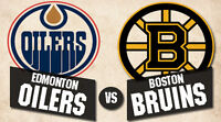 Edmonton Oilers Tickets vs. Boston Bruins - Wednesday December 2