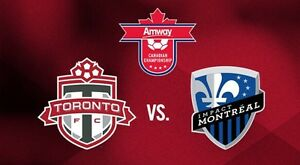 TFC Toronto FC - Cup Final - Jun 27th - 3 seats LOWER BOWL - $50