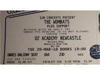 The wombats tickets