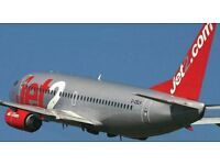 Two Jet2 flights 10-20Aug Edinburgh-Arrecife(Lanzarote)