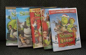 Shrek Collection DVD - 5 movies Cambridge Kitchener Area image 1