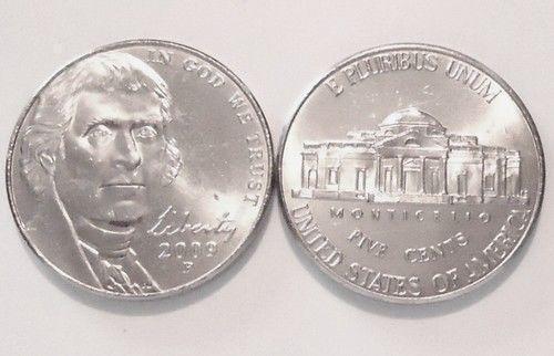 2009 P Jefferson Nickel Choice BU US Coin