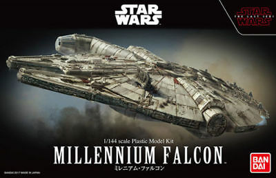 NEW Star Wars Millennium Falcon 1/144 The Last Jedi Bandai USA Seller