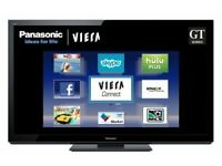 50 Inch Panasonic Plasma TV (Viera) for sale