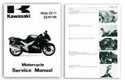 Kawasaki ZZR1100 Manual