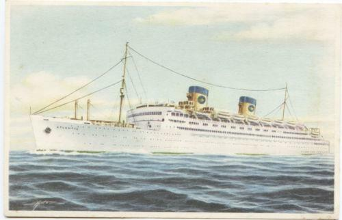 Home Lines Cruise Ships Ocean Liners EBay - 1930s cruise ships