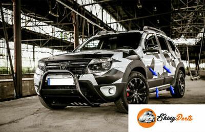 Dacia DUSTER 10-17 SUV Chrom-Zierleiste Heckleiste Heckklappe 3M Tuning