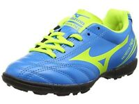 izuno Unisex Kids' Morelia Neo older boys Football Boots, Blue (BlueYellow), size 4 UK 36 1/2 EU