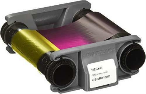 Evolis Badgy200 YMCKO Ribbon Cassette CBGR0100C