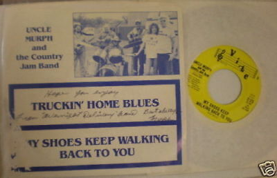 PICTURE SLEEVE Uncle Murph Country Jam Band Vibe 1001