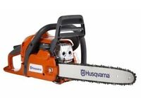 "Husqvarna 435 15 "" Chainsaw new 2 years warranty"