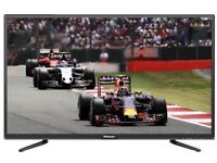 "50"" HISENSE LED FHD TV 2 MONTHS OLD FREEVIEW HDMI PORTS USB CAN DELIVER"