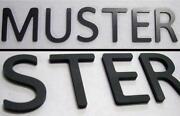 Buchstaben Metall