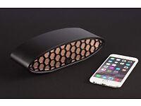 Kitsound Hive Evolution Bluetooth Speaker Brand New Black / Rose Gold