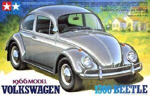 Tamiya 24136 1/24 Scale Model Car Kit VW Volkswagen 1300 Beetle '66 Classic