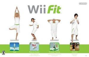 WII FIT GAME COMPLETE WITH BALANCE BOARD IN BOX - MINT!!