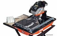 """RENT ME - 10"""" NORTON WET TILE SAW ON STAND"""
