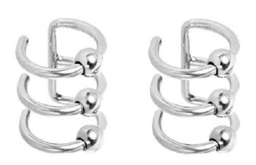 Captive Nose Ring Body Piercing Jewelry Ebay