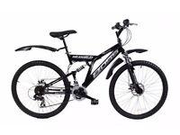Boss Blackdawn Men's Dual Suspension Mountain Bikes x used (Good condition)