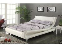2 X DOUBLE BED! ENZO ITALIAN STYLE BED'S WITH MATTRESSES