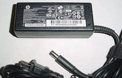 Genuine Hp Ac Adapter Power Supply  65W 19 5V 18 5V  Smart Pin  Mixed