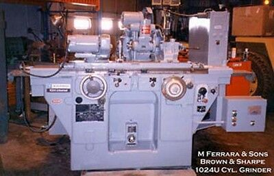 Brown Sharpe Cylindrical Universal Grinder Inv.3097
