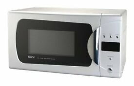 Hinari Easitronic HMW109 Silver Grill Microwave Oven