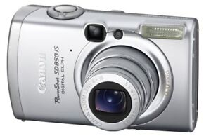 Canon PowerShot SD850 IS 8.0 MP Digital Elph Camera