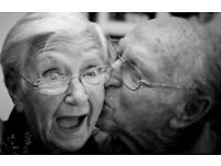 Looking for couples 70+ for a photoseries