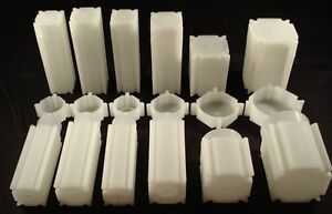 20-Coin-Safe-Plastic-Square-Coin-Tubes-Combination-You-Choose-Coin-Supplies