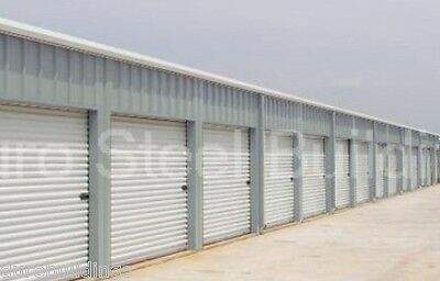 Duro Steel Self Storage 30x100x8.5 Metal Building Kit Prefab Structures Direct