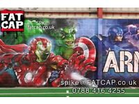 Street Art - Graffiti Artist - Aerosol Spray Can Murals - BRISTOL