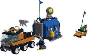 Lego Arctic Mobile Outpost and Ice Surfer - 2 Sets