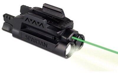 - LaserMax SPS-C-G Spartan Green Laser Sight/Light Combo Adjustable Fit Black