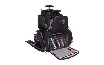 G-Outdoors GPS-1711ROBP Rolling Handgunner Backpack Black