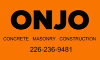 ONJO CONCRETE AND MASONRY