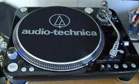 Brand new Audio Technica LP-1240 Turntables (2) in box.