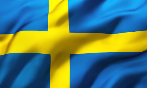 Sweden Flag Swedish Svensk Flagg Sverige National Sverige Flagga Large 5 X 3 New