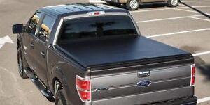 2009-2015 Dodge Ram / 04-15Ford F50 Soft Roll up Tonneau Cover