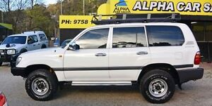 2000 Toyota Landcruiser FZJ105R GXL White 4 Speed Automatic Wagon Upper Ferntree Gully Knox Area Preview