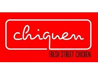 Chiquen is looking for Entertainers to celebrate it's Birthday this weekend
